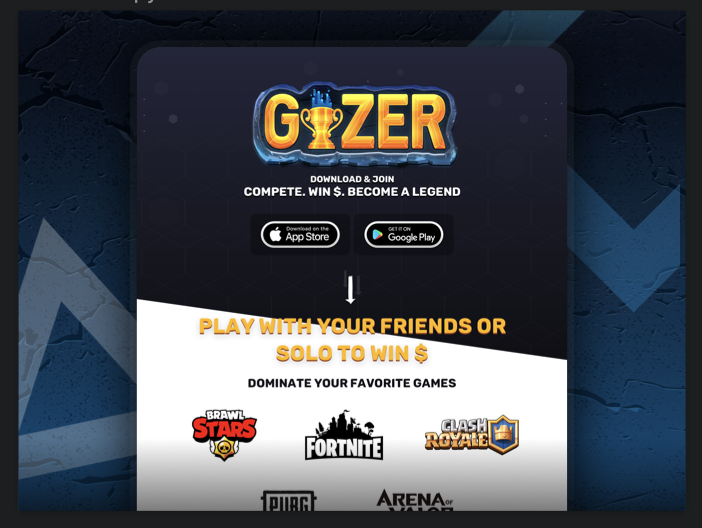 GIZER | The Global Gaming Network